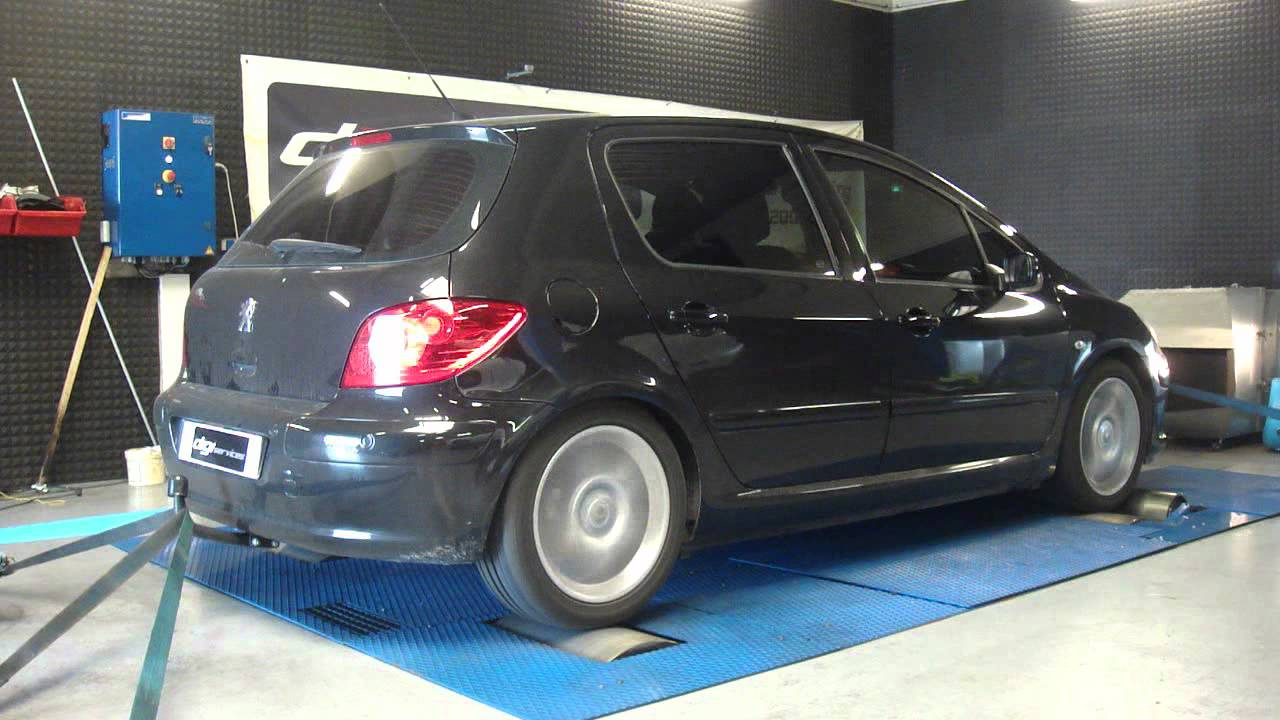 reprogrammation moteur peugeot 307 hdi 136cv 160cv dyno digiservices youtube. Black Bedroom Furniture Sets. Home Design Ideas