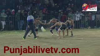 #102 Royal King USA vs Sarhala Ranuan Final Match Ballomajra Kabaddi Cup 2018