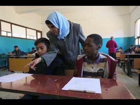 أطفال طرابلس الليبية يكافحون لمواصلة التعليم مع استمرار الحرب  - نشر قبل 36 دقيقة