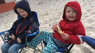 Camping with kids at Assateague National Seashore - Camping with family