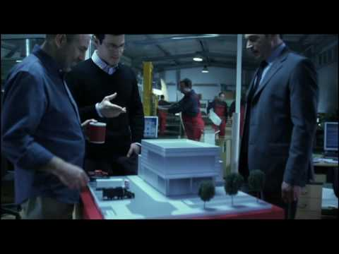 Societe Generale Express Bank - The Cube - TV Commercial
