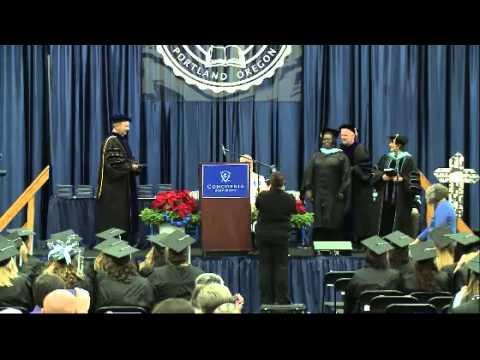 Concordia University-Portland - December 13, 2014 - Commencement #2