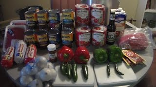 How to make Chili - 5 gallons for a Cook Off