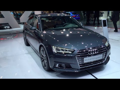 audi a4 3 0 tdi quattro 2016 in detail review walkaround interior exterior youtube. Black Bedroom Furniture Sets. Home Design Ideas