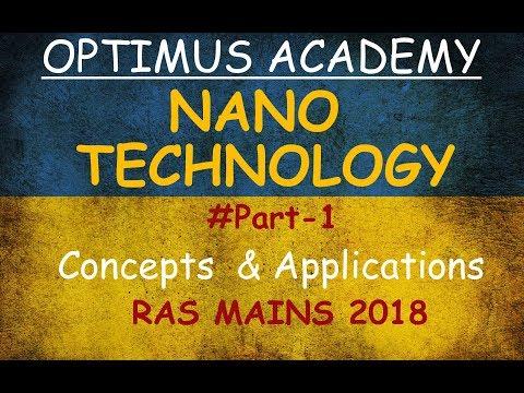 Nano-Technology | Concept & Applications | PART 1 | RAS MAINS | UPSC | RFS- |