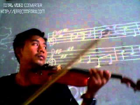 muara kasih bunda violin cover by rakis