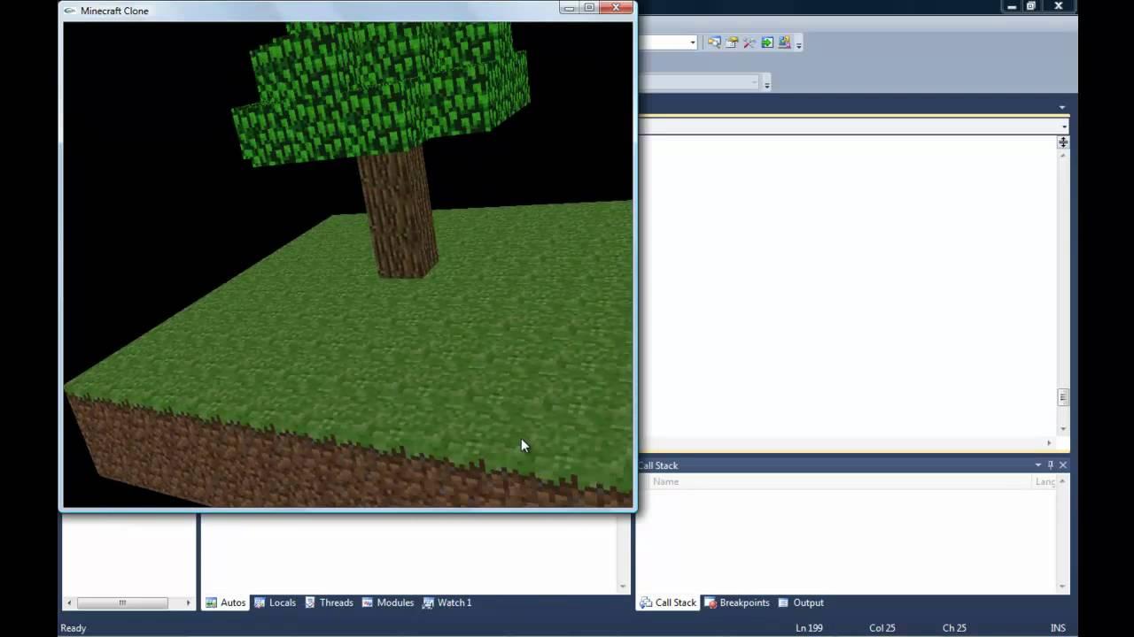 C Opengl Minecraft Clone