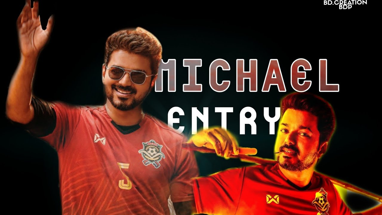 Bigil - Michael intro | scene |