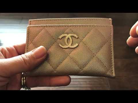 ebf13bae8c93 Chanel Unboxing! 19S Iridescent Beige! - YouTube