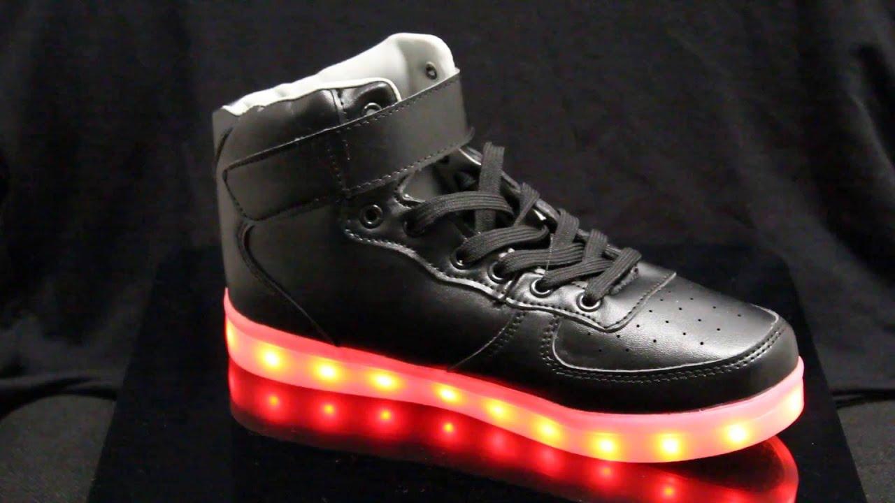 Led svietiace topánky či tenisky (www.cool-mania.eu) - YouTube 99bfd51ea25