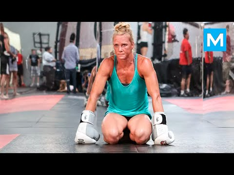 Holly Holm MMA Conditioning Training | Muscle Madness