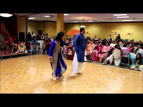 Fahad, Muna, Saad, Asma khan mehndi dance 06.13.14