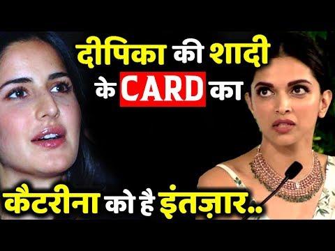 Katrina Kaif Is Waiting For Deepika Padukone-Ranveer Singh's Wedding Invitation