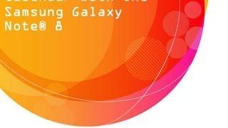 Samsung Galaxy Note 8 : Calendar