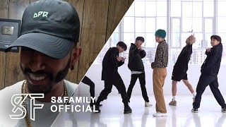 DANCER REACTS : BTS 방탄소년단 BOY WITH LUV (DANCE PRACTICE) Resimi