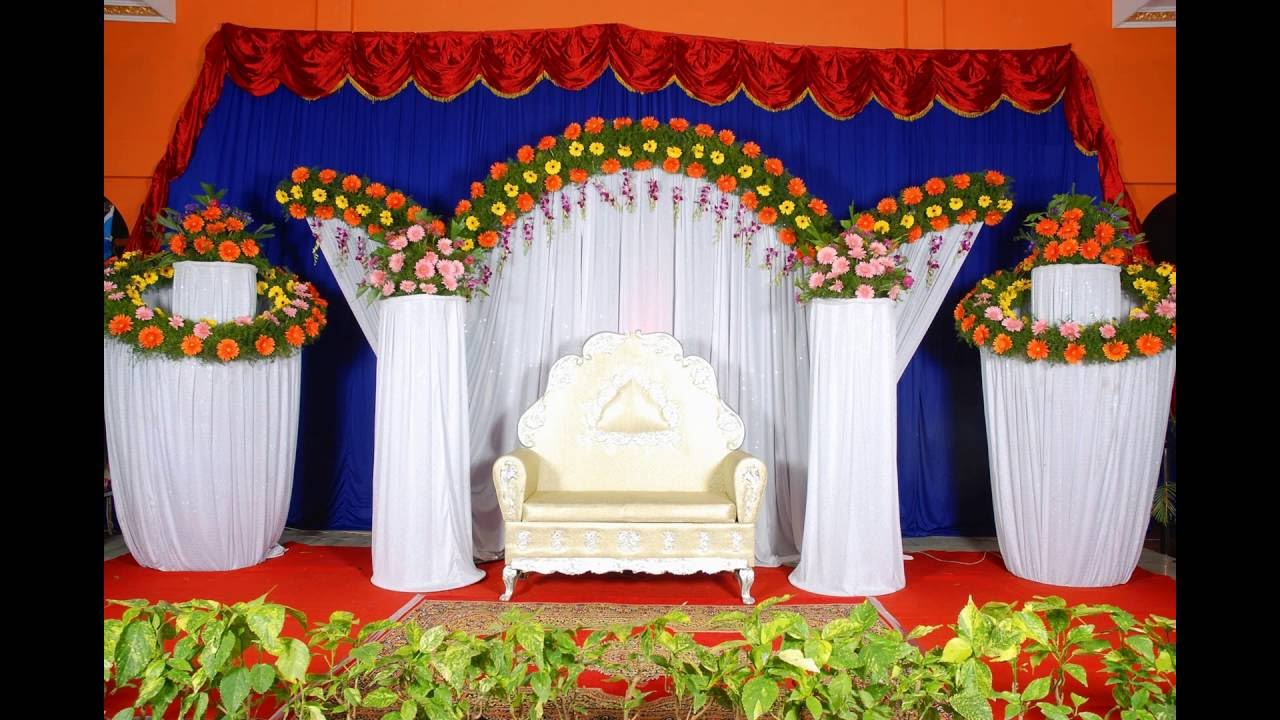 Beautiful Indian Wedding Stages Wedding Planners Youtube