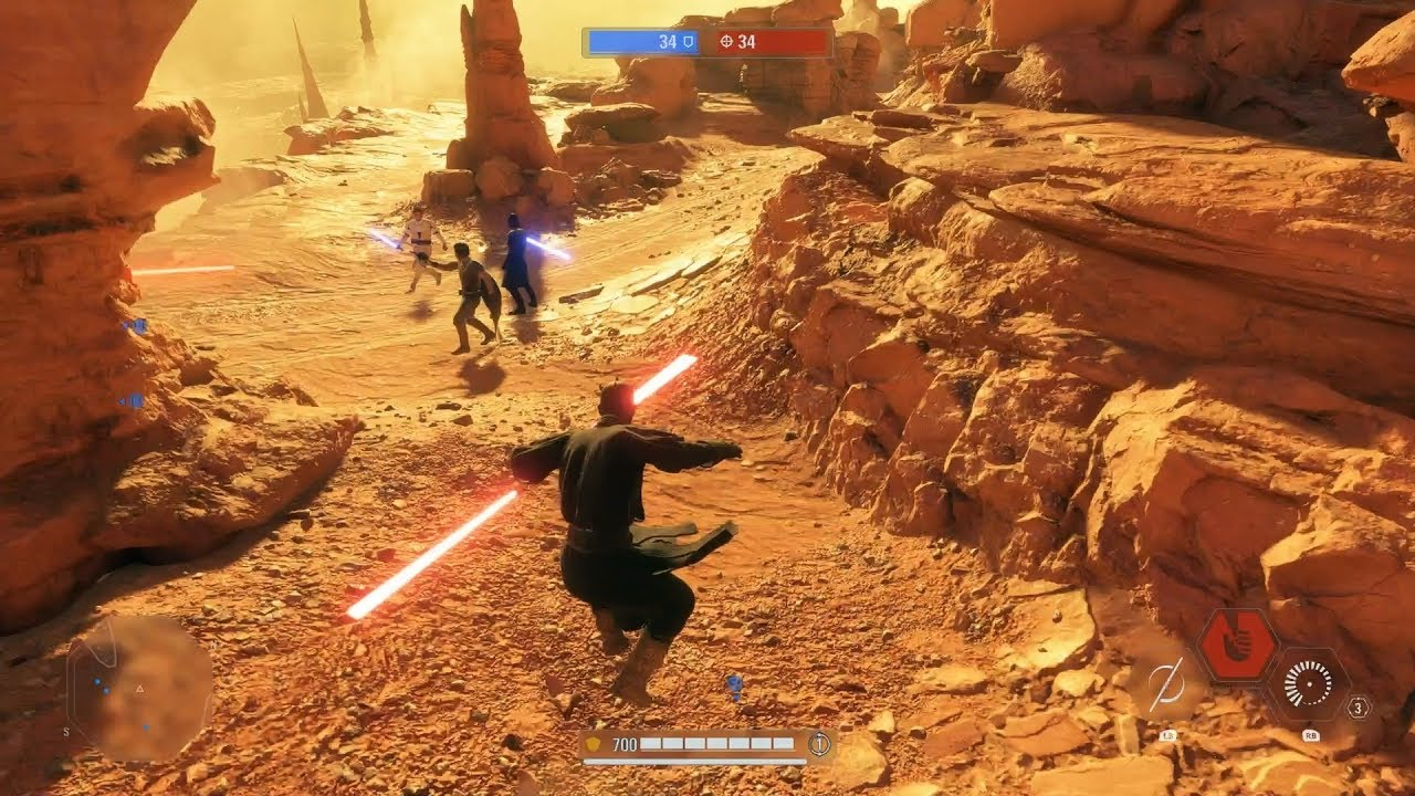 Star Wars Battlefront 2: Heroes vs Villains Gameplay (No Commentary) thumbnail