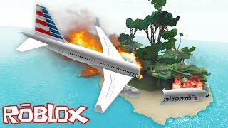 Video Roblox - The Island - PLANE CRASH INTO DEMON ISLAND!! download MP3, 3GP, MP4, WEBM, AVI, FLV September 2017