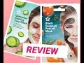 Black Seaweed peel off mask /cucumber clay face mask Review