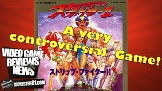 Rare Strip Fighter II game review - Gamester81