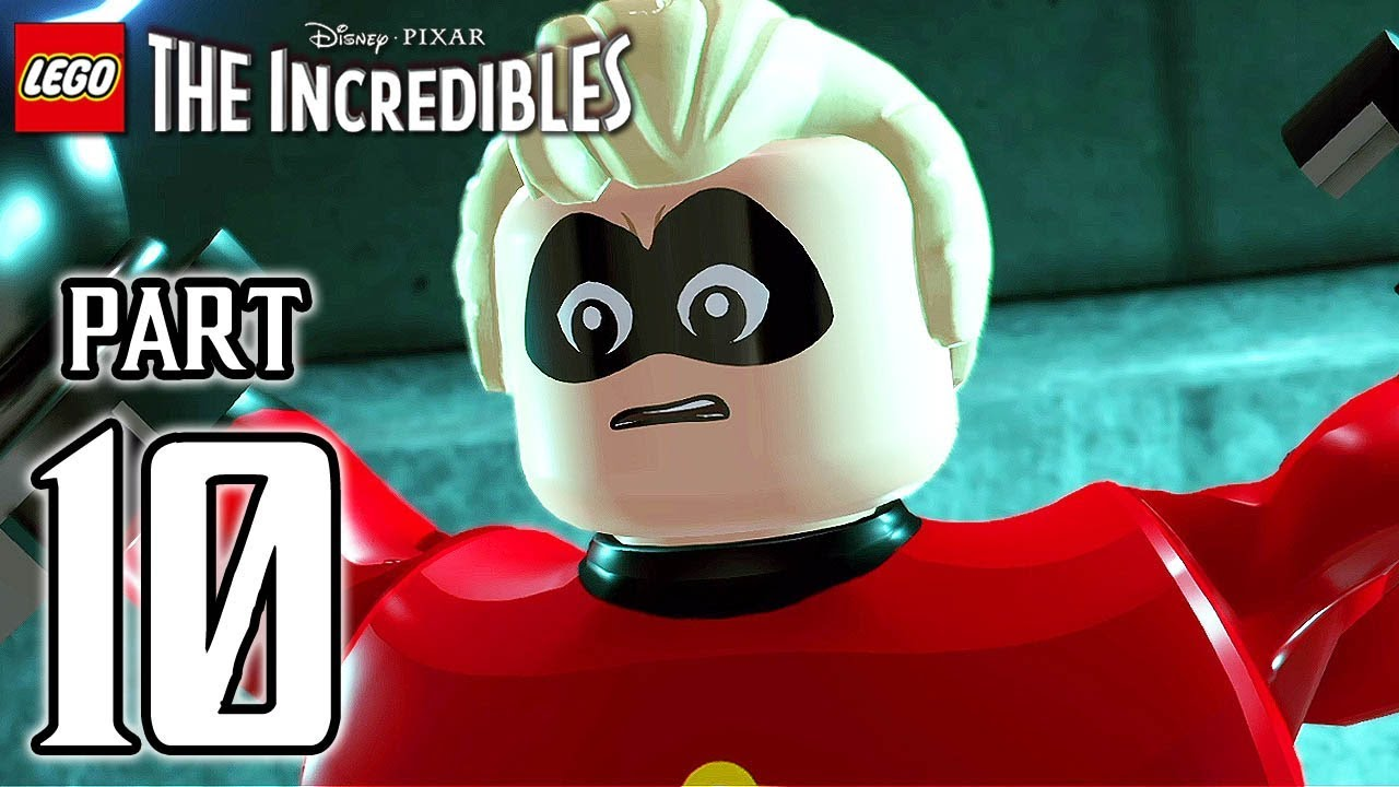 LEGO The Incredibles Walkthrough PART 10 (PS4 Pro) No Commentary @ 1080p HD ✔