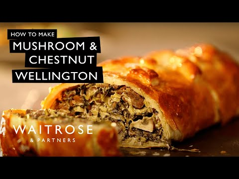 Mushroom and Chestnut Wellington | Waitrose