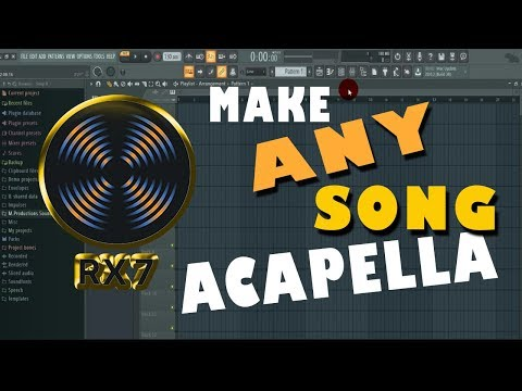 How to Make An Acapella To any Song 2018
