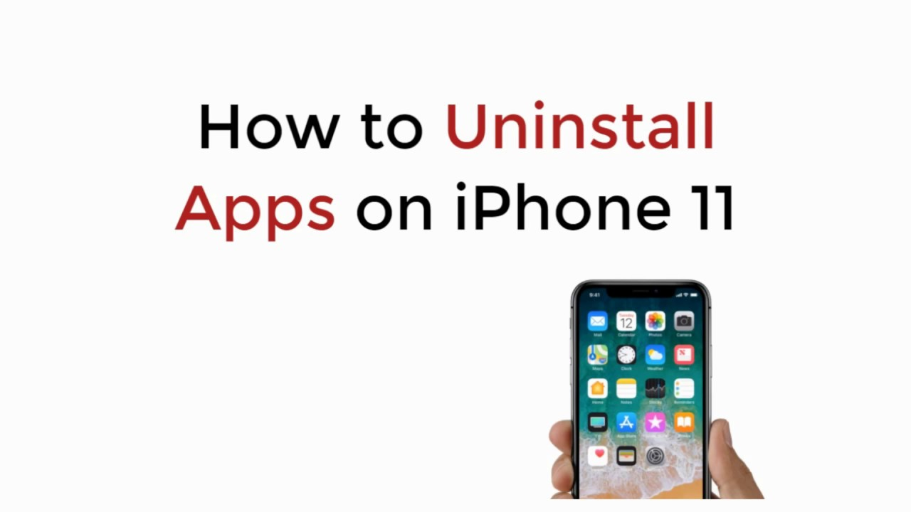 Iphone 11 How To Uninstall Apps On Iphone 11 11 Pro 11 Pro Max Youtube