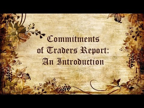 The Commitments of Traders Report (CoT) - An Introduction