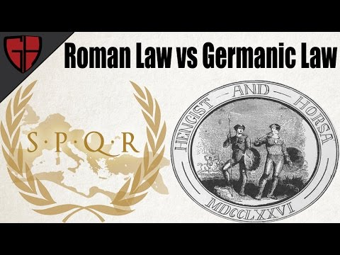 Roman Law and Germanic Law