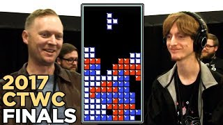 Finals - 2017 Classic Tetris World Championship Episode 5