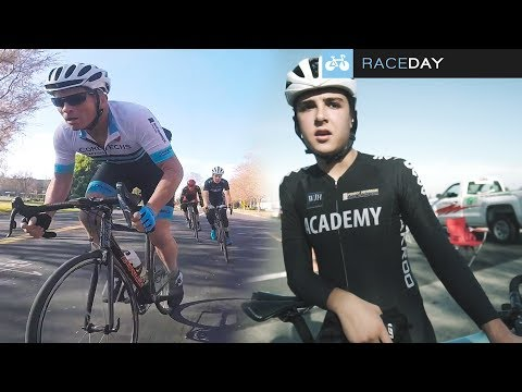 Training Crits & Mentoring Juniors - RACEDAY (A CYCLING RACE VLOG)