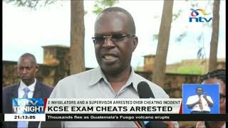 5 KCSE candidates have been arrested at Muslim Girls School in Maragua over exams cheating.