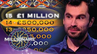 The MILLION Pound Question | Who Wants To Be A Millionaire?