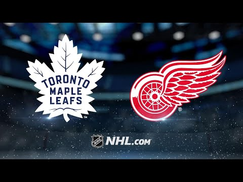 Matthews' late goal propels Leafs past Red Wings, 3-2