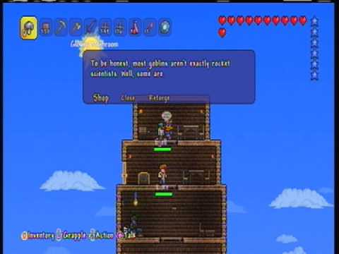 Terraria Xbox 360 How To Get The  Rocket Boots