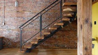 видео лестницы на второй этаж