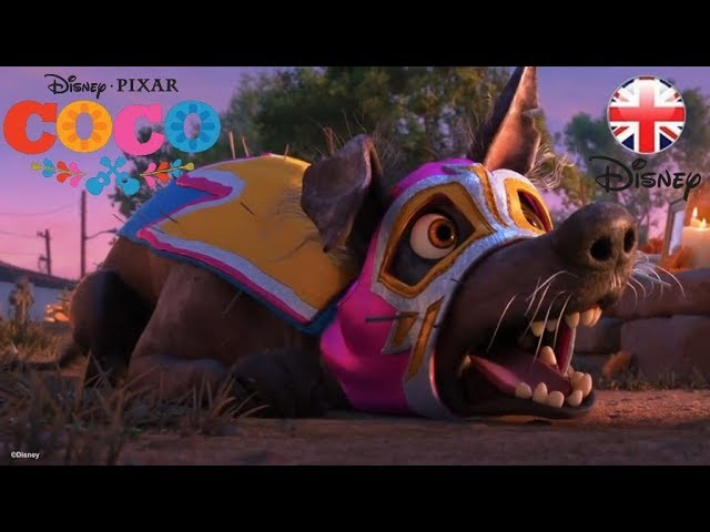 Coco – Dante's Lunch... A Short Tail - Official Disney Pixar UK   HD
