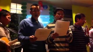 Tet 2011 - Hai's singing 02