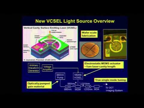 Ben Potsaid Hot Topics presentation: MEMs tunable VCSEL technology for ultrahigh-speed OCT