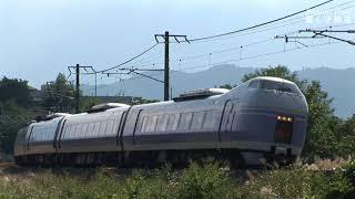 特急あずさ(E257系)、スーパーあずさ(E351系)中央東線を行く 2017.12 HDV 1426