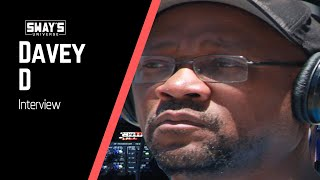 Legendary Journalist Davey D Weighs In On The Music Business And Corporations   SWAY'S UNIVERSE