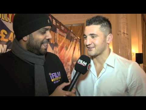 'I'LL FIGHT WHOEVER HAS THE BELTS' - NATHAN CLEVERLY INTERVIEW  / CLEVERLY v KRASNIQI / PRESS CONF.