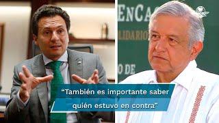 El Presidente pidió que se termine la investigación en la que participa el exdirector de Pemex, luego de que la FGR investiga a todos los que integraban el Consejo de Administración de Petróleos Mexicanos