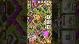 Clash of clans troll base 101