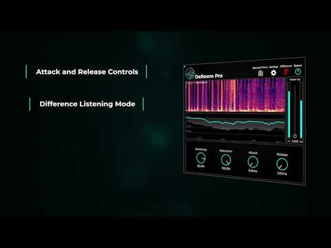 DeRoom Pro - Intelligent Reverb Removal for Post Production