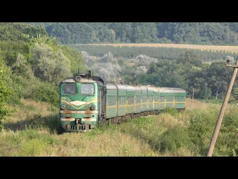 An old green locomotive with green wagons makes its way through the grass from YouTube · Duration:  1 minutes 39 seconds
