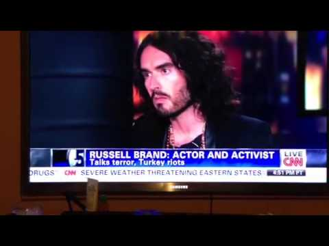 Russell Brand speaks out on dangers of stereotyping Muslims