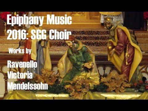Epiphany Music  2016: SGG Choir