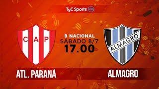 Atletico Parana vs Almagro full match